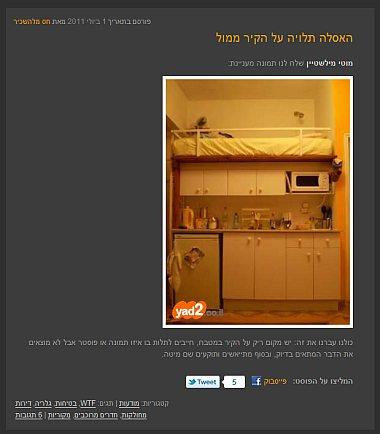 בעל הבית השתגע. דירות שכורות בתל-אביב
