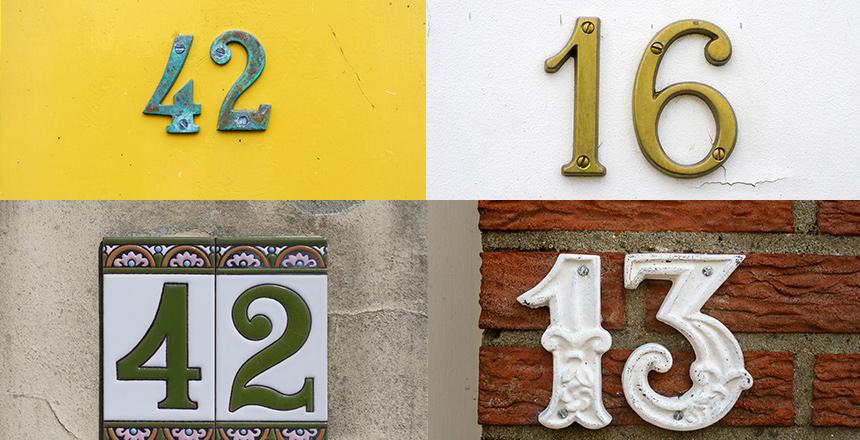מבחר שלטים בעיצובים שונים יתנו ערך מוסף לבית