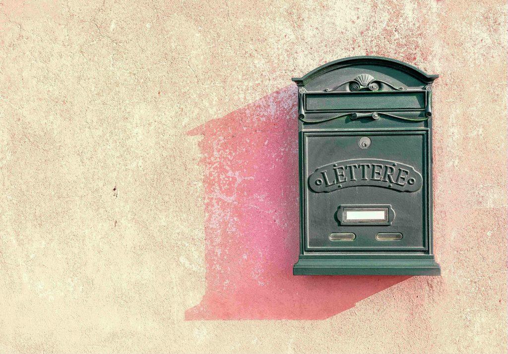 תיבת דואר מעוצבת